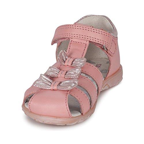 Start-rite filles Cassia Bleu clair en cuir Sandales Rosa (rosa)