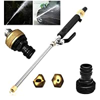 Magic High Pressure Wand With Two Nozzle, Hamkaw Jet Power Washer Wand For Car Wash Window Wash Garden Watering Spray