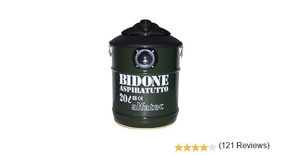 Alfatec Sito Ufficiale.Alfatec Bidone Aspiratutto Professionale 1300 W Verde Scuro