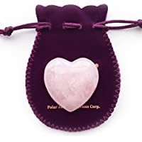 Puffy Heart Hand-Carved of 100% Natural Crystal Stones for Chakra Energy Healing, Meditaion, Massage and Decoration preisvergleich bei billige-tabletten.eu
