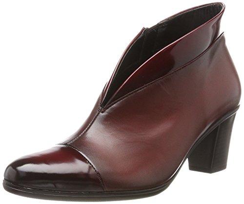 Gabor Shoes Damen Basic Stiefel, Rot (Chianti/Cherry(Eff), 38.5 EU (Leder-booties Patent)