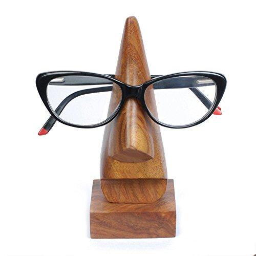Indian Gllance Hand Geschnitzt aus Holz Brillenhalter Home Dekorative