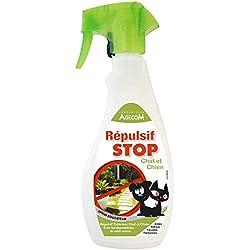 Essentiel - Répulsif Extérieur STOP en Spray pour Chien et Chat - 500ml