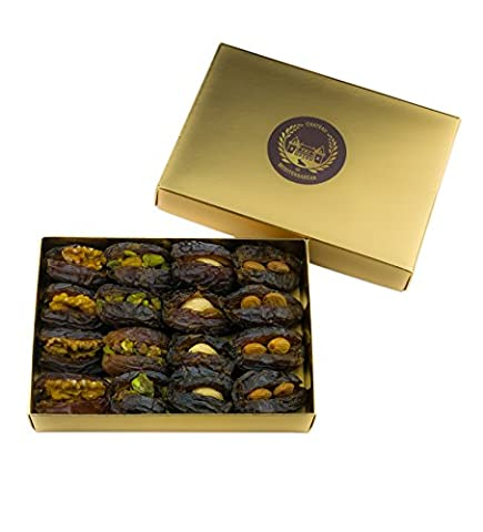 Medjool Dates filled with nuts | 16 Pieces | Chateau de Mediterranean | Gift