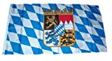 Fahne / Flagge Freistaat Bayern Wappen NEU 150 x 250 cm