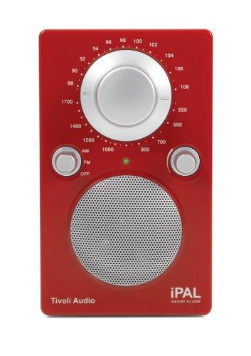 Tivoli IPAL-0746-EU iPAL MW/UKW Tragbares Radio rot (Ipal Radio)