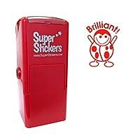Stamper Solutions Brilliant Ladybird Pre Inked Stamper