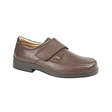 Immagine non disponibile. Immagine non disponibile per. Colore  Roamers  extra largo chiusura al tocco scarpe casual uomo ... 534517c5667