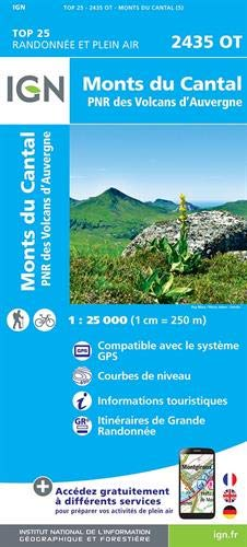 2435OT MONTS DU CANTAL par  COLLECTIF