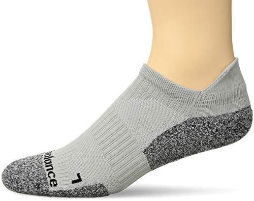New Balance Unisex-Erwachsene Speed Runner Halbkissen Nylon Low Cut Tab Socken, Unisex-Erwachsene, grau, Shoe Size: 4-5.5 (Small) -