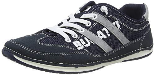 bugatti Herren 321729015400 Sneaker, Blau, 42 EU
