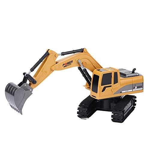 RC Auto kaufen Kettenfahrzeug Bild 6: Fernbedienung Bagger, 2,4 GHz 6 Kanäle Fernbedienung Bagger LKW 1/24 RC Engineering Auto Baufahrzeug Spielzeug Geschenk für Kinder*