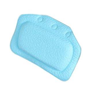 bathtub pillow - TOOGOO(R) Home & Garden Bathroom bathtub pillow bath bathtub headrest suction cup waterproof Bath Pillows Bathroom Products Blue