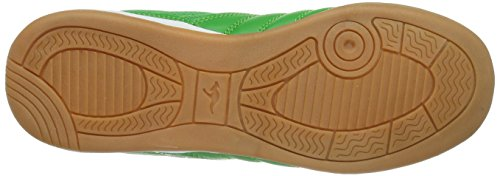 KangaROOS  KangaYard 3023T, Baskets pour garçon Vert - Grün (green/white 800)