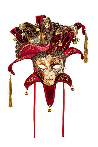 Máscara Decorativa Original Veneciana Hecha A Mano