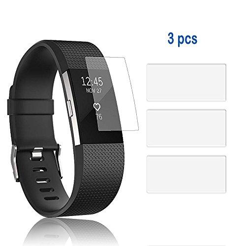 NEO+ UK Verkäufer. Unsichtbar Displayschutzfolien für Fitbit Laden 2–Military Grade Schutz/Tracker Nicht Enthalten, Cable for Fitbit Charge HR