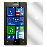 dipos I 2X Schutzfolie klar passend für Nokia Lumia 520 Folie Displayschutzfolie