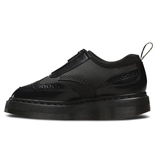 Dr.Martens Womens Resnik Leather Shoes Black