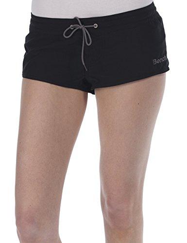 Bench Damen Shorts Badeshorts HOTTEE D, Gr. 36 (Herstellergröße: S), Schwarz (Jet Black BK014)