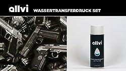 Wassertransferdruck Folie Wtd Starter Set Pistole Inkl. Aktivator, Messer Und Handschuhe