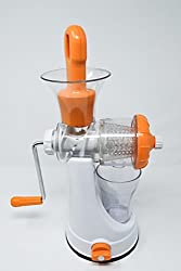 High Jumbo Fruit & Vegetablemanual Hand Juicer Mixer Grinder with Steel Handle & Waste Collector