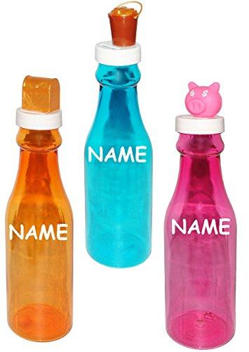 nte Flasche als - Spardose -