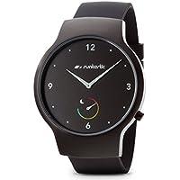 Runtastic Moment BASIC Uhr & Aktivitätstracker (mit Silikonband) Schwarz