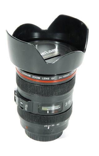 Spardose Kameraobjektiv 16 cm Foto Kamera Objektiv Sparbüchse