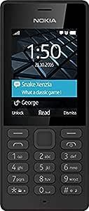 Nokia 150 (Dual SIM, Black)