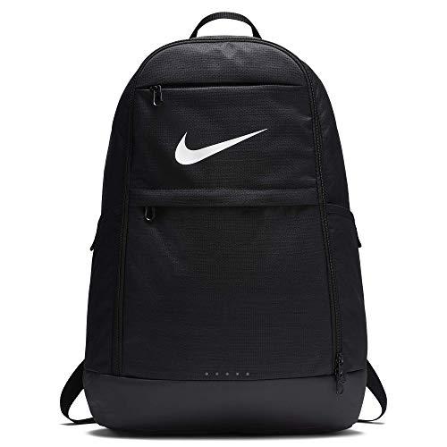 Nike Unisex- Erwachsene NK BRSLA XL BKPK - NA Schultertaschen, Black/Black/White, Einheitsgröße
