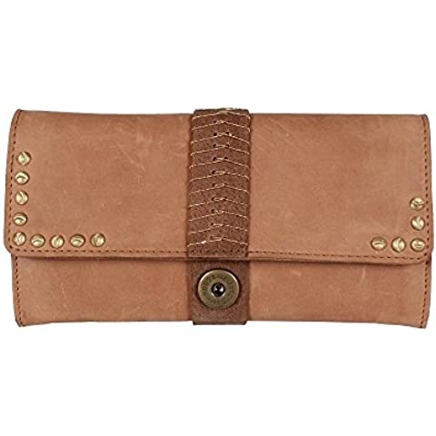 Noosa NIVKH Large Flap Wallet BWL-3012-54 Tan