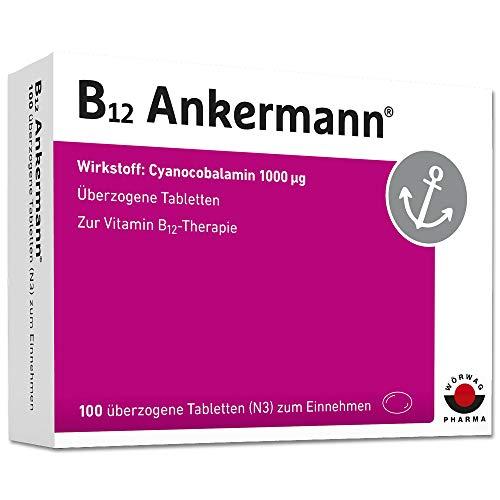 B12 Ankermann Dragees, 100 St. überzogene Tabletten