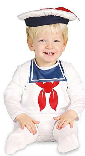 Baby Matrose - Kostüm für Kinder Gr. 86 - 98, Größe:92/98