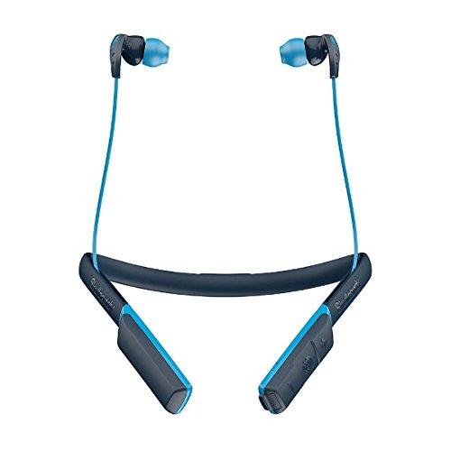 Skullcandy Method Wireless Sport Ohrhörer mit Mikro, Blau
