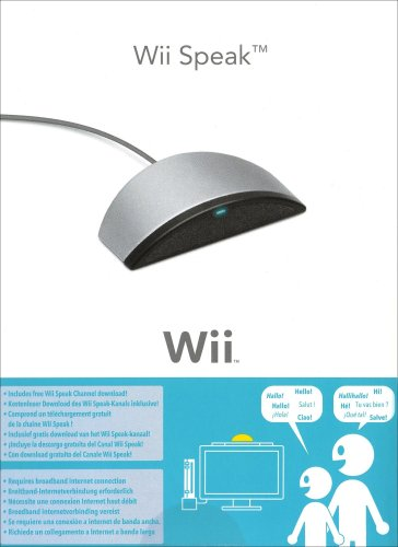 Price comparison product image Wii Speak (Wii)