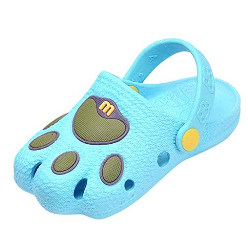 c6518872 PRINCER Summer Unisex Baby Hole Slippers Newborn Toddler Cute Lightweight  Cartoon Caterpillar Beach Sandals Slippers Clog