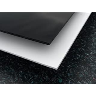 Platte Acrylgas XT, 1000 x 500 x 3 mm, schwarz, Zuschnitt Acrylglas schwarz glänzend alt-intech®