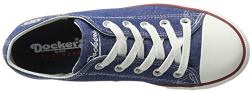 Dockers by Gerli 36ur210-730600, Sneakers Basses Femme Bleu (Blau 600)