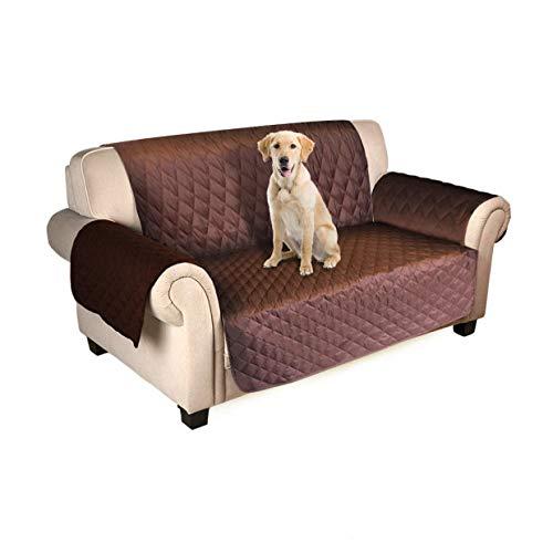 FREESOO Sofabezug für 1-Sitzer, 2-Sitzer, 3-Sitzer, Sofadecke für Kinder und Haustiere, mit rutschfestem Netz und Befestigungsgurt -