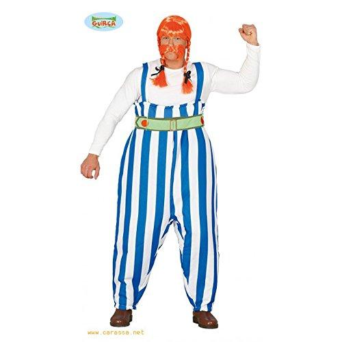 Kämpfer Kostüm für Herren Gr. M/L, Größe:L (Asterix Et Obelix Kostüme)