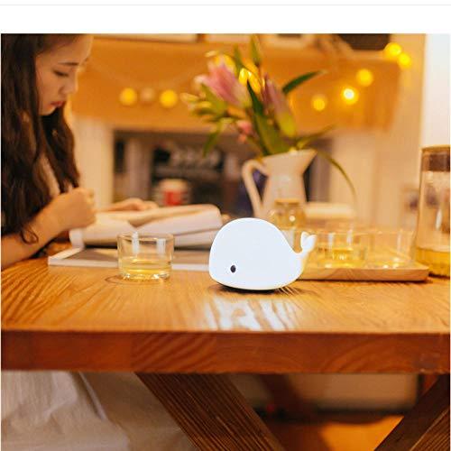 Tabelle Nachtlicht Babyzimmer Wal Cartoon Nachtlicht Kinder Bett Tischlampe Schlaf Glühbirne Kind Weihnachtsgeschenk