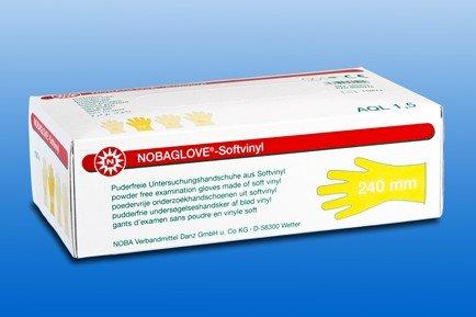 Nobaglove, Softvinyl, M, Untersuchungshandschuhe, puderfrei, 100 Stk./Pack, PZN 09088261