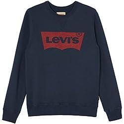 Levi's Kids Batwin sweatshirt Sweat-shirt, Bleu (Marine 04), 12 ans (Taille fabricant: 12A) Garçon