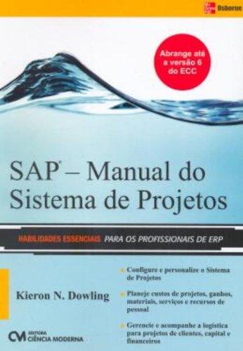 Sap - Manual Do Sistema De Projetos (Em Portuguese do Brasil)