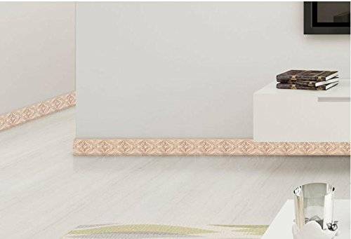 taille-autocollants-ligne-de-pied-mur-de-plinthes-autocollants-auto-adhesif-papier-pvc-vert-impermea