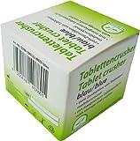 1 Tablettenmörser Tablettencrusher von Medi-Inn Farbe: blau
