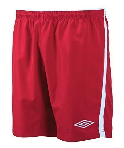 Umbro Calcio Breve rosso/bianco