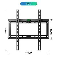 Modern Life Ultra Slim TV Wall Bracket Wall Mount Max VESA 400x400 for 23-55 inch LCD Full HD 1080p 3D 4K Smart TV