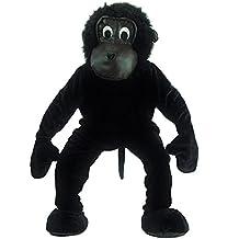 Carnival Toys 25905 - traje de gorila de Hombre, la cabeza y los pies por separado, Universal L-XXL