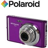"""Appareil photo numerique ultra compact Polaroid iE826 de 18 megapixels (18 Mpx, zoom optique 8x, batterie Li-Ion, ecran 2,4"""") (violet)"""